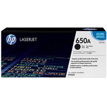 HP 650A Black LaserJet Toner Cartridge